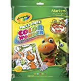Crayola Color Wonder Dinosaur Train Coloring Pad Markers – $6.99!
