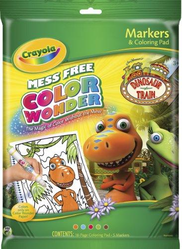 Crayola Color Wonder Dinosaur Train Coloring Pad & Markers