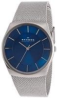"Skagen Men's SKW6068 ""Havene"" Silver-Tone Stainless Steel Watch with Mesh Band from Skagen"