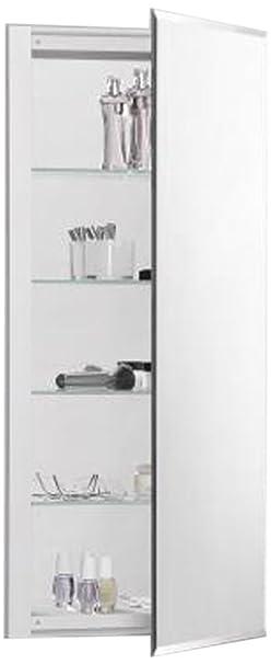 Robern CB-RC1636D4FB1  R3-Series Bevel Mirror Medicine Cabinet