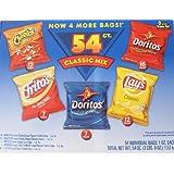 Frito-Lay フリトレー  クラシック・ミックス バラエティー チップス 54袋パック (28-g x 54) 並行輸入品
