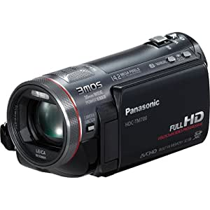 Panasonic HDC-TM700K Hi-Def Camcorder with Pro Control System & 32GB Internal Flash Memory (Black)