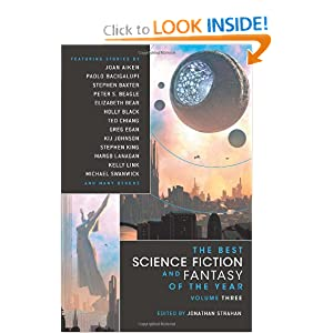 The Best Science Fiction & Fantasy of the Year, Volume 3