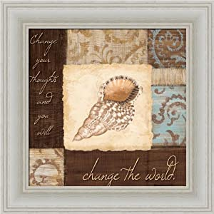 Amazon.com - Change the World by Jane Carroll Seashell Bathroom