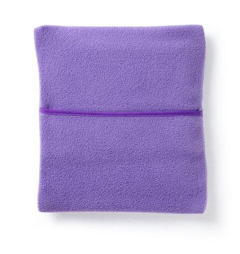 Hotties Microhottie Microwavable Hot Water Bottle Purple Polyester Fleece