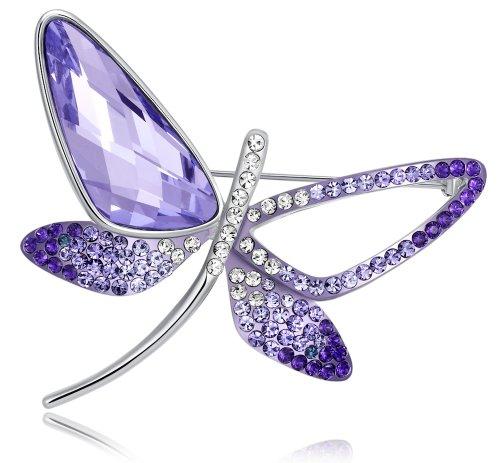 Stylized Butterfly Swarovski Elements Crystal