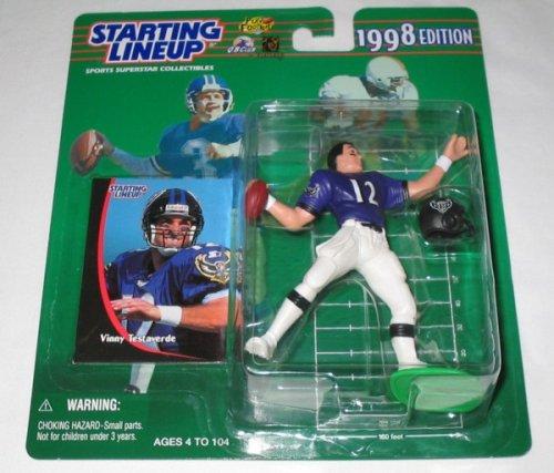 1998 Vinny Testaverde NFL Starting Lineup - 1