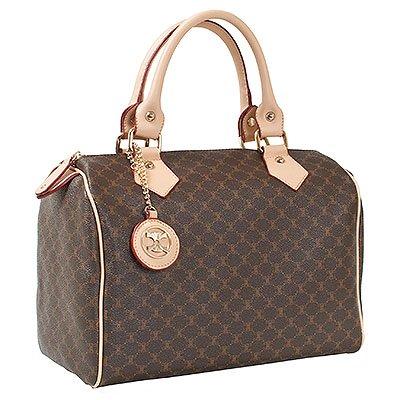 Violett-Lina (Beige) Boston Bag