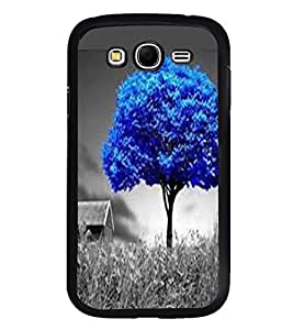 Fuson Premium 2D Back Case Cover Animated tree With pink Background Degined For Samsung Galaxy Grand Neo::Samsung Galaxy Grand Neo i9060