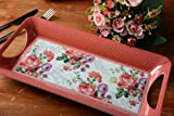 Katie Alice - Scarlet Posy Shabby Chic Luxury Small Tray