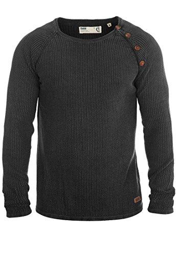 SOLID Tenne - Maglione da Uomo, taglia:M;colore:Black (9000)