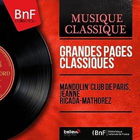 Grandes pages classiques (Mono Version)