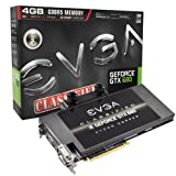 EVGA Nvidia GeForce GTX 680 Classified Hydro Copper Graphics Card (4GB, GDDR5, PCI-Express 3.0, HDMI, DVI-I, DVI-D)