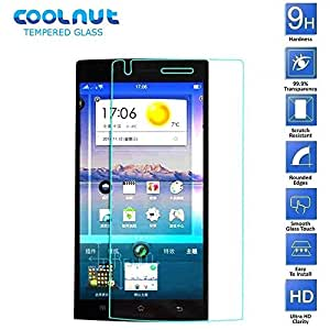 COOLNUT® Oppo Find 5 Tempered Glass,0.33mm Thickness Premium Quality Mobile Tempered Glass Screen Protector for Oppo Find 5