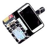 For Karbonn S5 Titanium - PU Leather Wallet Flip Case Cover