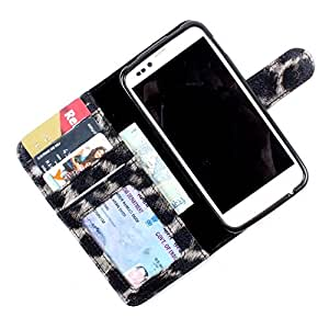 i-KitPit PU Leather Wallet Flip Case Cover For Nokia Lumia 520