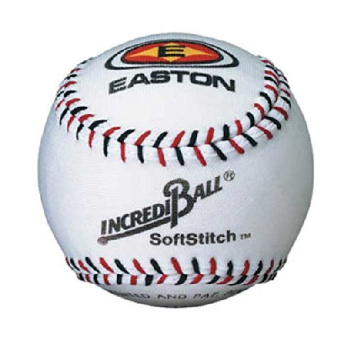 "Ragballs A122305T Incrediball Polyester Baseball, Foam Core, 9"" Size, White - 1"