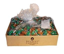 Bequet Caramels Celtic Sea Salt 5lb bag