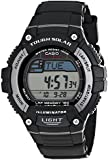 Casio Men's WS220-1A Solar Runner Tough Solar Multi-Function Runner Watch