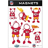 NFL Kansas City Chiefs Family Magnet Set at Amazon.com