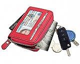 パプア (PAPUA) 小銭入れ コインケース カードケース キーチェーン 付き 定期入れ 財布 キーケース