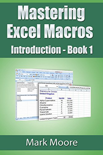 Mastering Excel Macros: Introduction (Book 1) (Vba Programming 2013 compare prices)