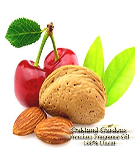 BULK Fragrance Oil – CHERRY ALMOND Fragrance Oil – Classic favorite mixture of cherries and almond – By Oakland Gardens (060 mL – 2.0 fl oz Bottle)