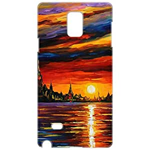 a AND b Designer Printed Mobile Back Cover / Back Case For Samsung Galaxy Note 4 (SG_N4_3D_1630)