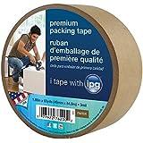Intertape 9341 Kraft Paper Flatback Carton Sealing Tape, 1.88-Inch x 60-Yard