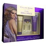 Pure Brilliance by Celine Dion Eau de Toilette Spray 30ml, Body Lotion 75ml & Shower Gel 75ml