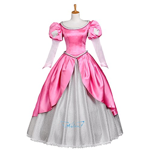 Halloween 2017 Disney Costumes Plus Size & Standard Women's Costume Characters - Women's Costume CharactersPink Ariel Party Costume Dress