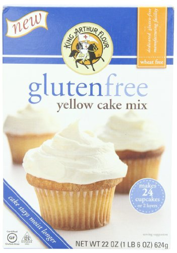 King Arthur Cake Mix, Yellow, 22-Ounce