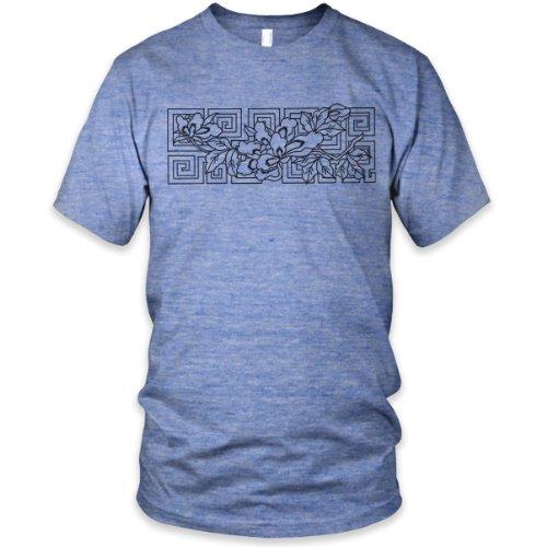 Vintage Celtic Blossum Tri-Blend T-Shirt, Athletic Blue, XL
