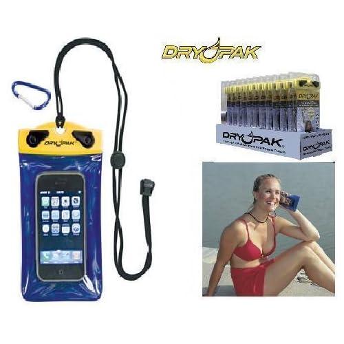 DRY PAK Waterproof STANDARD CELL PHONE CASE, 6 Inch