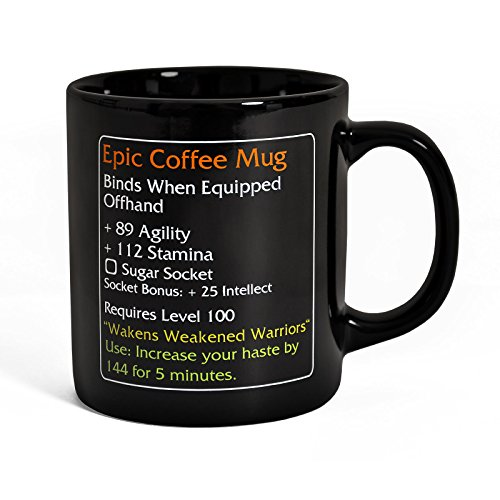 Epic Coffee Mug - Tazza MMO Item - 250 ml - Ceramica