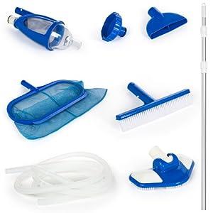 Intex 58959 accessoires piscines kit d 39 entretien vac for Kit entretien piscine