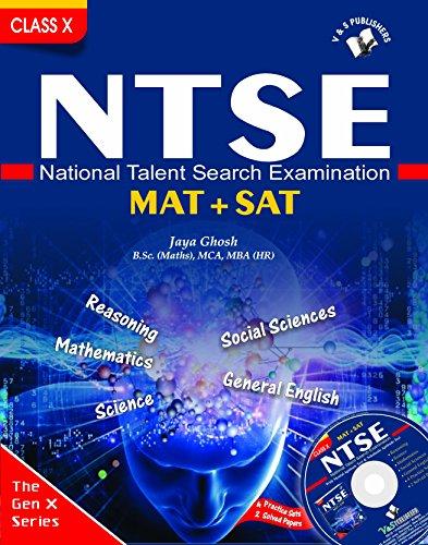 NTSE MAT + SAT [ NATIONAL TALENT SEARCH EXAMINATION, PB....Ghosh