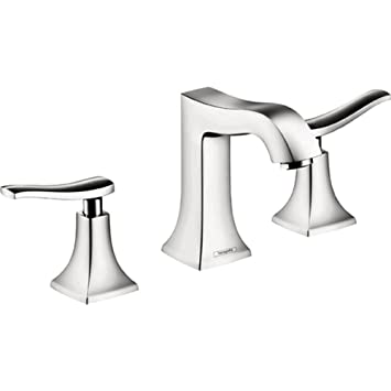 Metris C Two Handles Widespread Standard Bathroom Faucet Finish: Chrome