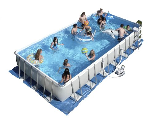 Intex ultra frame best price buy cheap rectangular pool for Cheap above ground pool packages
