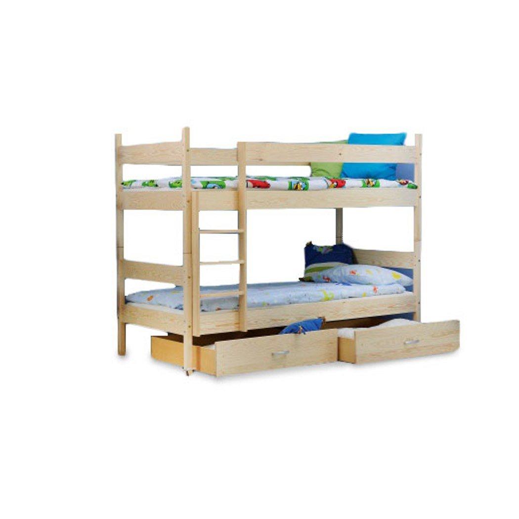 Kinder Bett Etagenbett Kinderbett Kinderzimmerbett 2 Personen Kiefer neu günstig online kaufen