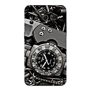Enticing Knife And Watch Back Case Cover for Galaxy Core 2