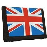 Union Jack British Wallet w/ Chain