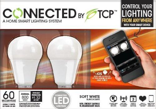 TCP Connected Smart LED Light Bulb Starter Kit - Gateway plu