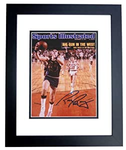 Rick Barry Autographed Hand Signed Golden State Warriors 8x10 Photo - BLACK CUSTOM...