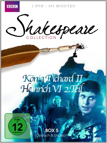 Shakespeare Collection 5 - König Richard II/Heinrich VI Teil 2 [2 DVDs]