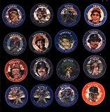 1985 SLURPEE BASEBALL COINS SET (16) MINT WITH RYAN JACKSON SCHMIDT BOGGS BRETT