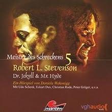 Dr. Jekyll & Mr. Hyde (Meister des Schreckens 5) Hörspiel von Robert Louis Stevenson Gesprochen von: Udo Schenk, Christian Rode, Eckhart Dux