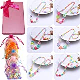 Elesa Miracle Girl Princess Party Favor Birthday Gift Pretend Play Jewelry Set Value Pack, Necklace & Bracelet...