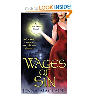 Wages of Sin (Cin Craven 01) by Jenna Maclaine