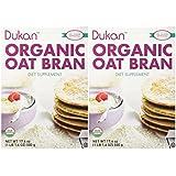 Dukan Diet Organic Oat Bran - 2 Pack - 17.6 oz. box
